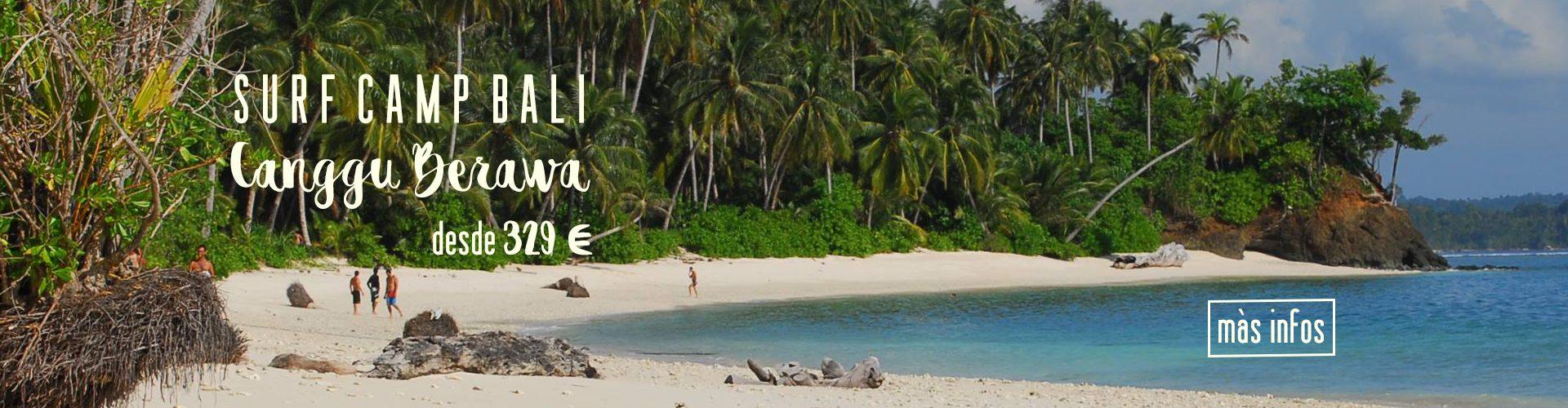 Campamento de Surf Bali