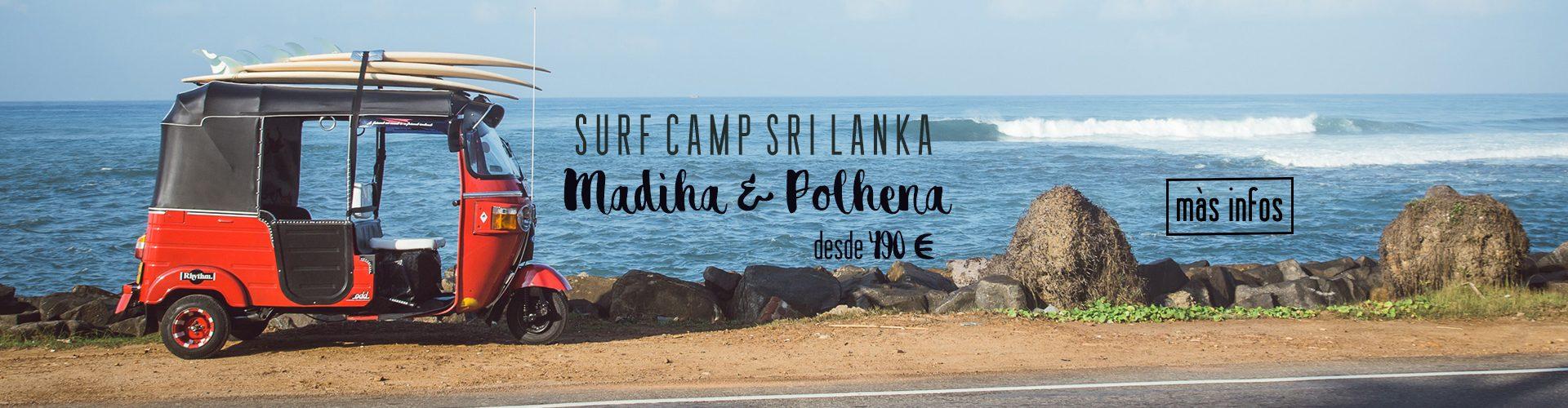 Campamento de Surf Sri Lanka