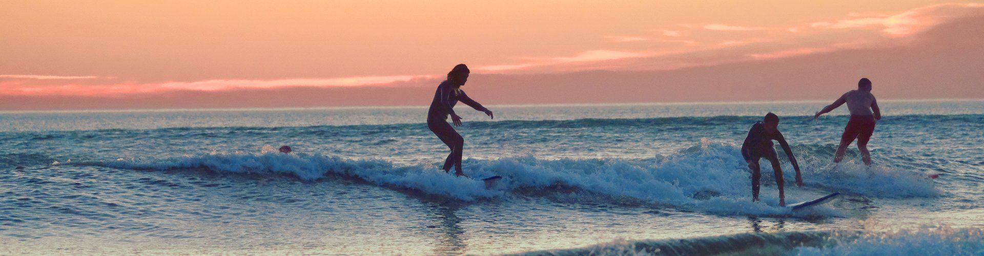 Cursos de surf para todos los niveles
