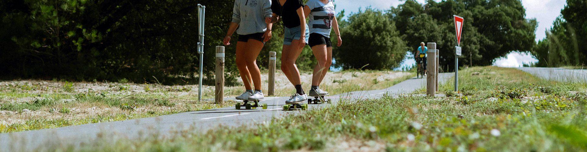 personas del curso de Planet Surf Camp de Le Pin Sec