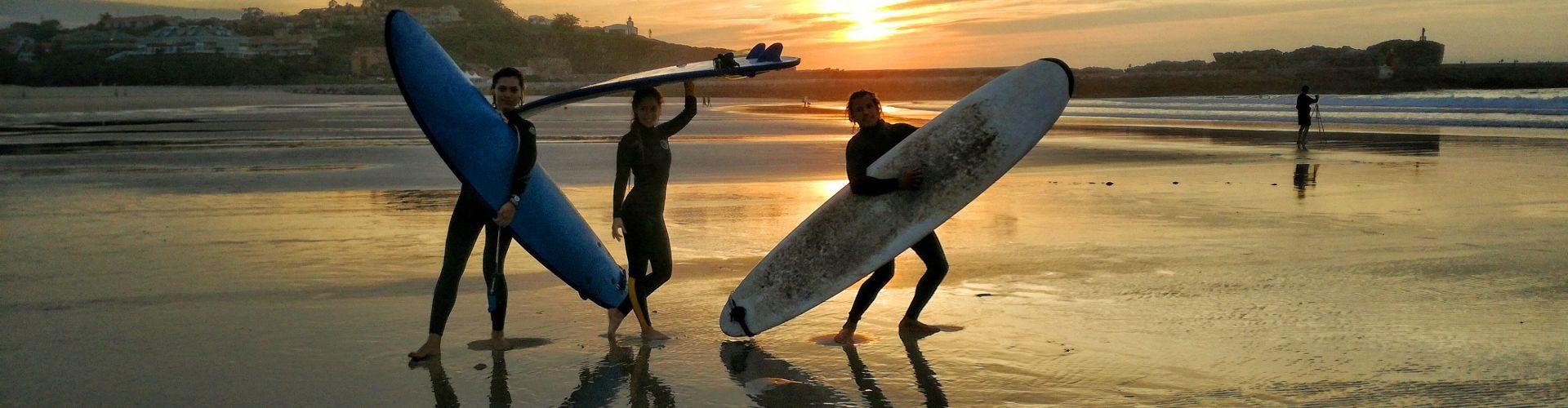 Cursos de surf en San Vicente de la Barquera