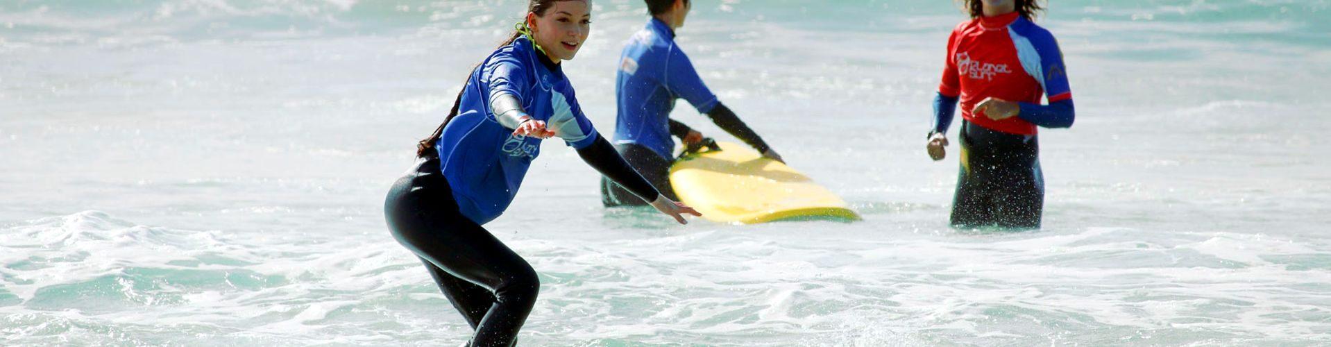 Curso de surf en Vieux Boucau