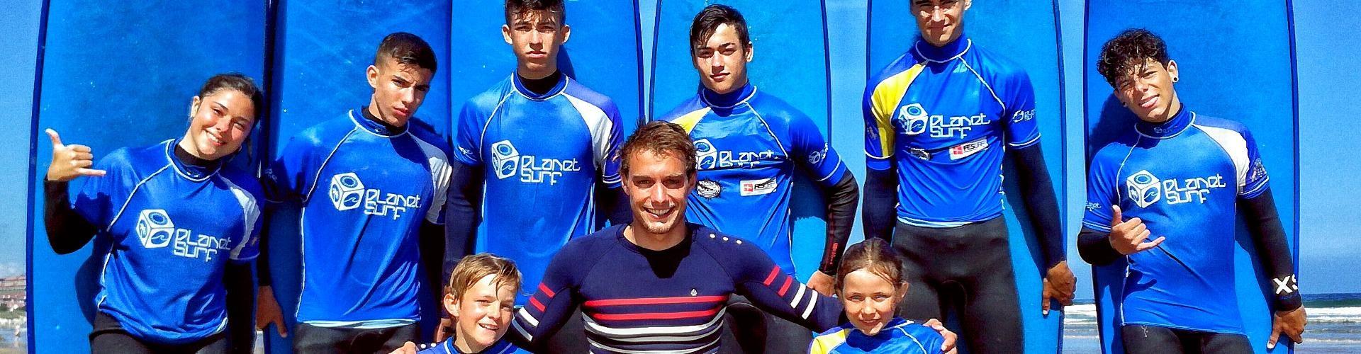 Clases de surf para jovenes en Cantabria