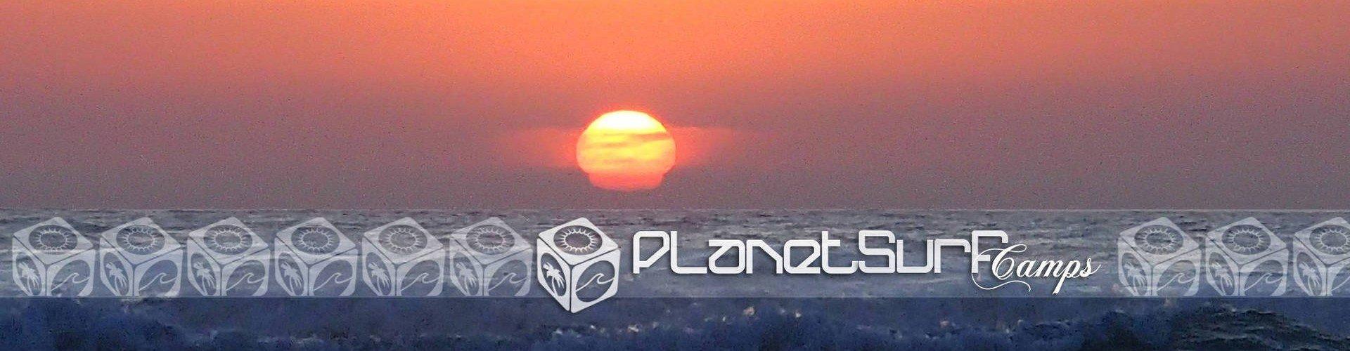 Preciosa puesta de sol desde el surf spot
