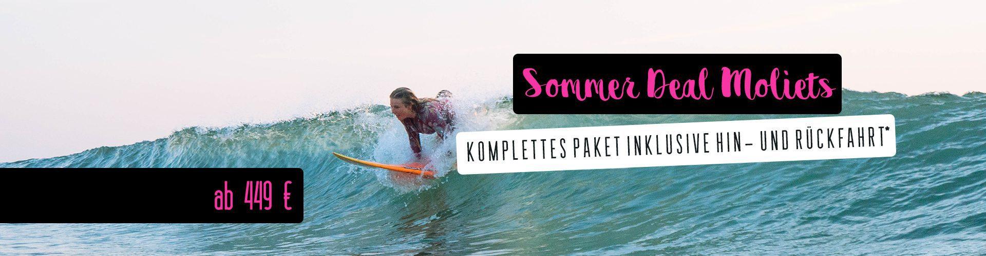clase de surf profesional